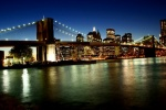 Brooklyn Bridge Manhattan Skyline