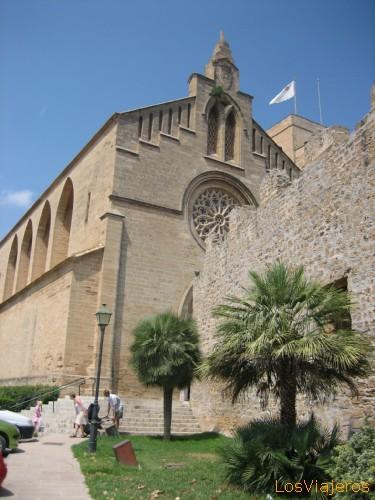 Alcudia's church - Spain Iglesia de Alcudia - Espa�a