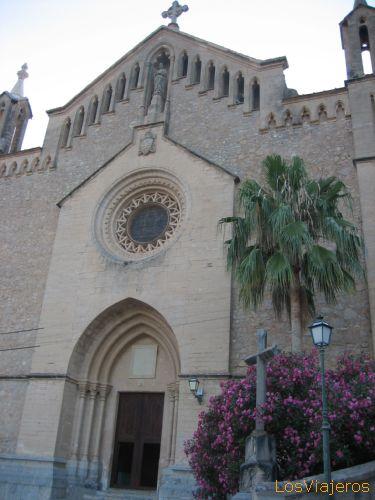 Arta's church - Spain Iglesia de Artà - España
