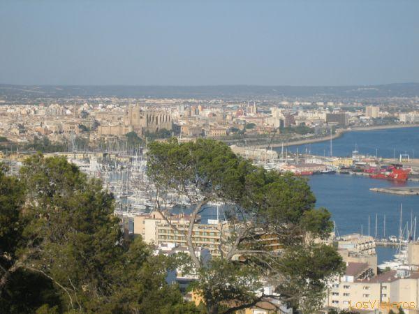 Palma de Mallorca (view from Bellver) - Spain Palma desde Bellver - Espa�a