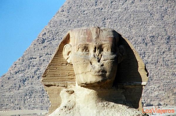 La Gran Esfinge-Giza-Egipto The Great Sphinx-Giza-Egypt