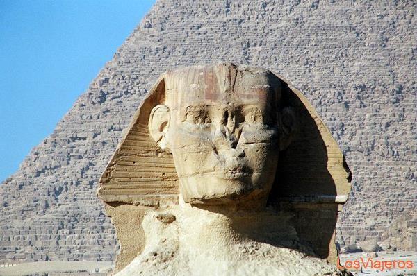 The Great Sphinx-Giza-Egypt La Gran Esfinge-Giza-Egipto