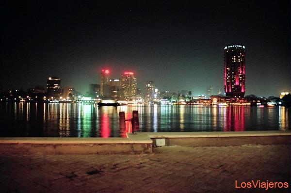 View from Hyatt Hotel-Cairo-Egypt Vista desde el Hotel Hyatt-El Cairo-Egipto