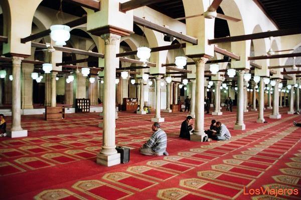 The Al Azhar Mosque-Cairo-Egypt Mezquita Al Azhar-El Cairo-Egipto