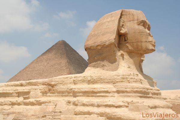 Sphinx of Giza -Egypt La Esfinge de Giza -Egipto