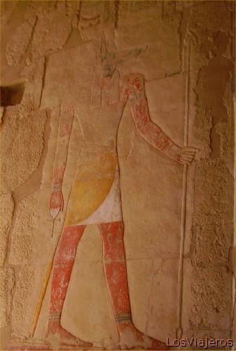 Anubis -Deir el Bahari -Hatshepshut- Egipto Anubis - Deir el Bahari (Hatshepshut) -Egypt