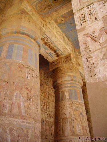 Templo de Ramsés III -Medinet Habou- Egipto