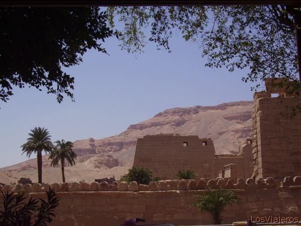 Medinet Habou- Egypt Medinet Habou- Egipto