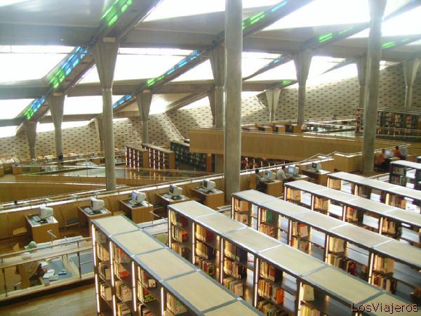 Biblioteca de Alejandria -Egipto Library of Alexandria -Egypt