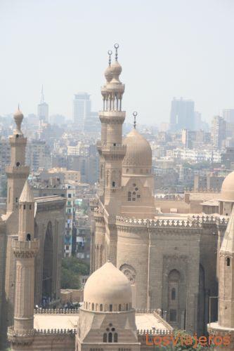 View of Cairo -Egypt Vista de El Cairo -Egipto