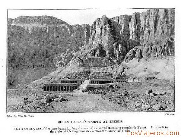 The temple of Deir the Bahari de Hatshepshut - Egypt El templo de Deir el Bahari de Hatshepshut - Egipto