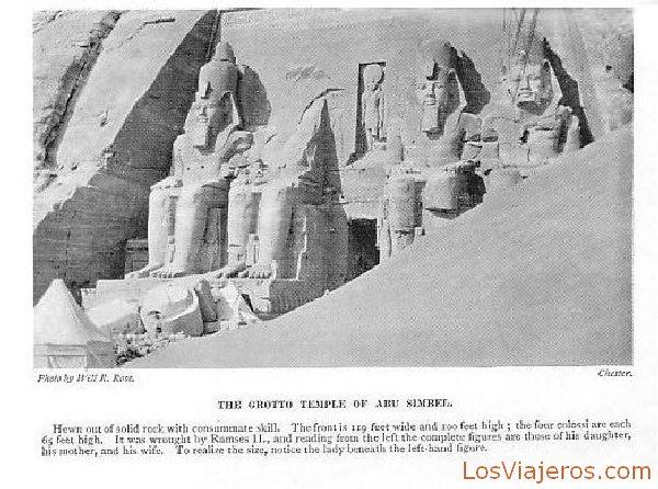 Templo principal en Abu Simbel - Egipto