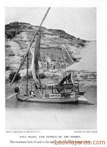 Sailing of Abu Simbel - Egypt Navegación en Abu Simbel - Egipto