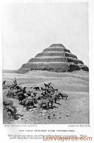 Step Pyramid - Egypt Pirámide Escalonada Djeser - Egipto