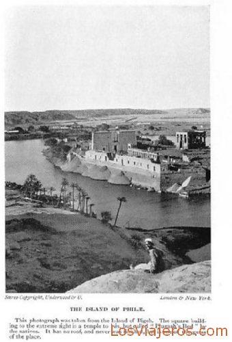 Old island of philae - Egypt Isla antigua de Philae - Egipto