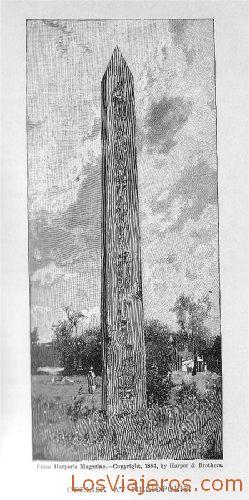Obelisk at Heliopolis - Egypt Obelisco de Heliópolis - Egipto