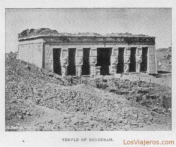 Templo de Denderah - Egipto