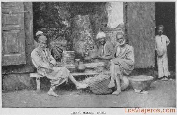 Basket makers - Egypt Fabricantes de cestas - Egipto