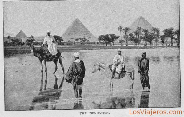 The inundation - Egypt La inundación - Egipto