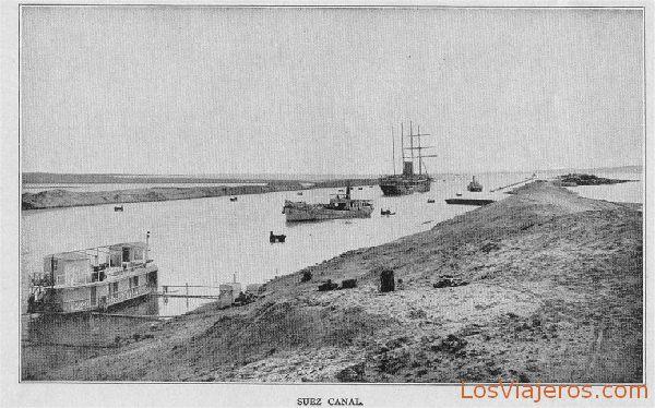 Canal de Suez - Egipto