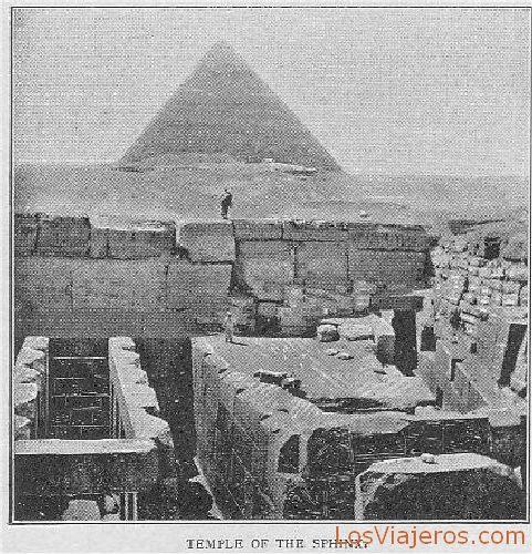 Temple of the Sphinx of Gizeh - Egypt Templo de la Esfinge de Giza - Egipto