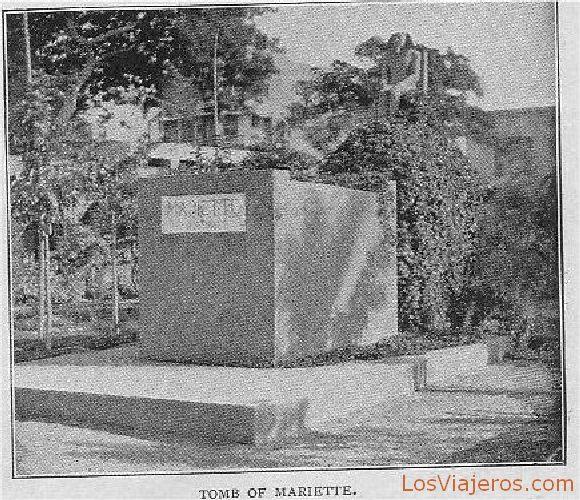Tomb of Mariette - Egypt Tumba de Mariette - Egipto