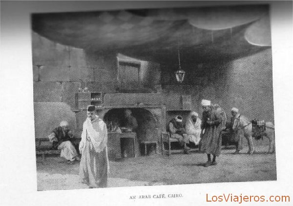 Café árabe - Egipto Arab coffee - Egypt