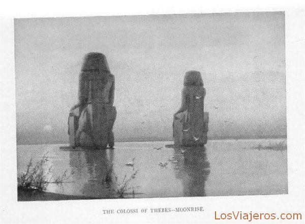 Colosos de Mennon - Egipto Colossi of Mennon - Egypt