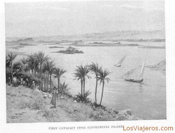 First cataract and elephantine island - Egypt Primera catarata e Isla Elefantina - Egipto