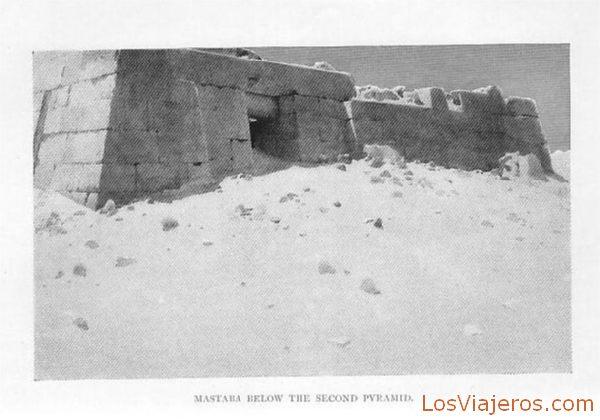 Nastaba below the second pyramid - Egypt Mastaba debajo de la segunda pirámide - Egipto