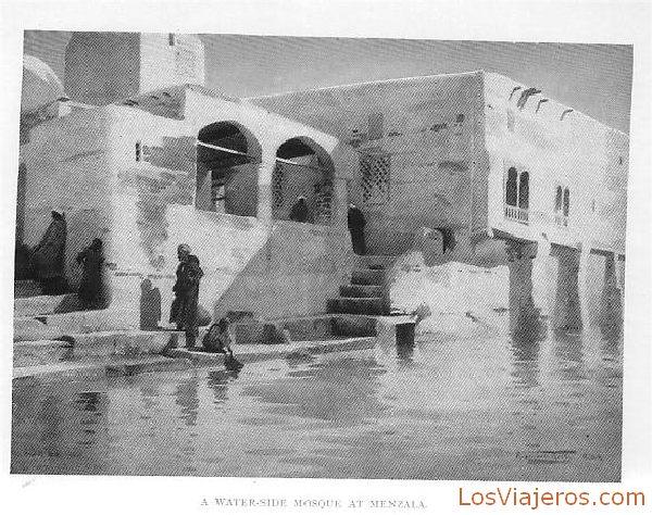 Mosque of menzala - Egypt Mezquita de Menzala - Egipto