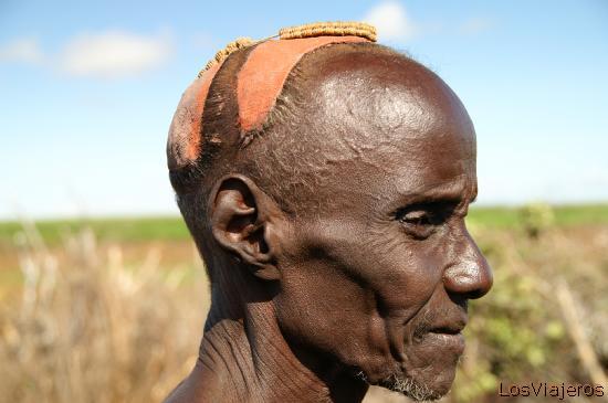 Tribu Danasech - Omorate - Valle del Omo - Etiopia