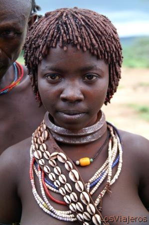 Hamer tribe - Omo Valley - Ethiopia Tribu Hamer - Valle del Omo - Etiopia