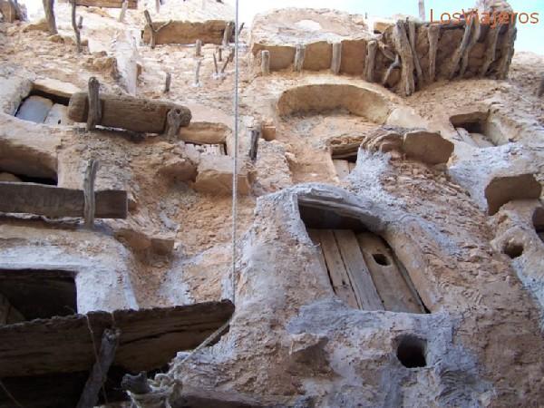 Nalut, the known as Castle - Libya Nalut,  el llamado castillo - Libia