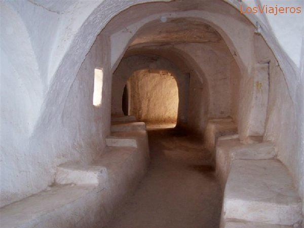 Ghadames, paseo por sus callejuelas - Libia Ghadames,  a walk thru its narrow little streets - Libya