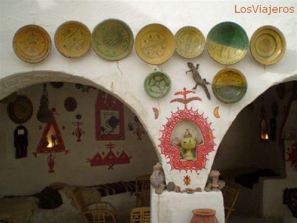 Ghadames, ciudad vieja, un gran sitio para disfrutar de un Te calentito - Libia Ghadames, old town, al wonderful place to enjoy one cup of hot tea - Libya