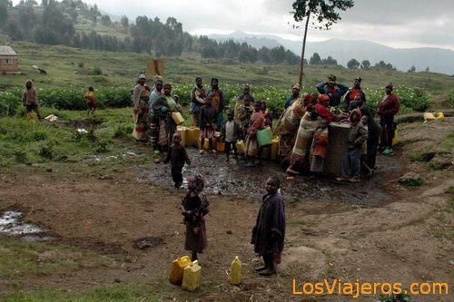 Rwandese population - Rwanda Población ruandesa - Ruanda