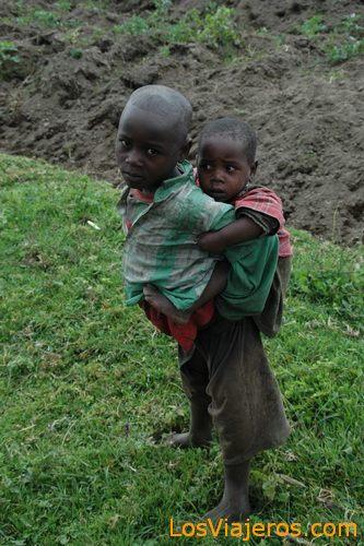 Niños ruandeses - Ruanda Rwandese children - Rwanda