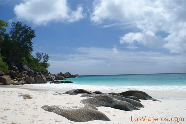 Pink sand and granite - Seychelles Arena rosa y granito - Seychelles