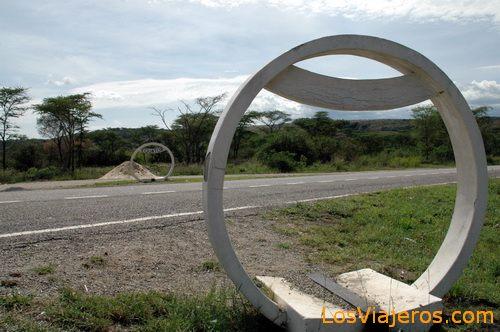 Passage of the Equator - Uganda Paso del Ecuador - Uganda