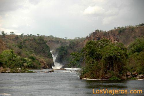 Parque Nacional de las cataratas Murchison - Uganda Murchison Falls National Park - Uganda