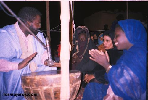 Boda tradicional del desierto - Tindouf - Argelia