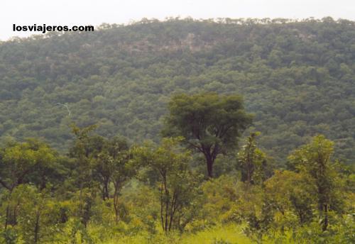 Landscapes around Natitingou - Benin Paisajes - Natitingou - Benin