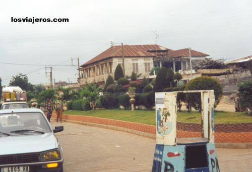 Streets of Porto Novo - Benin Calles de Porto Novo - Benin