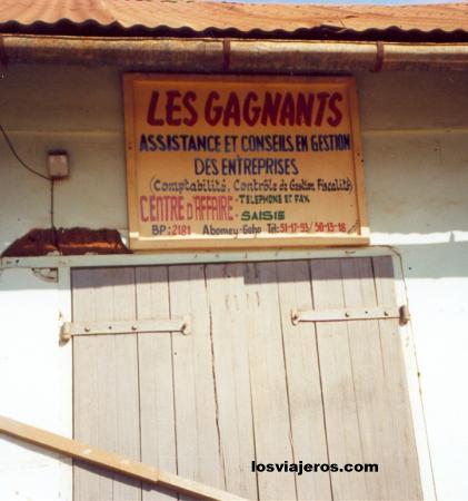 Tenderete en la ciudad de Abomey - Benin