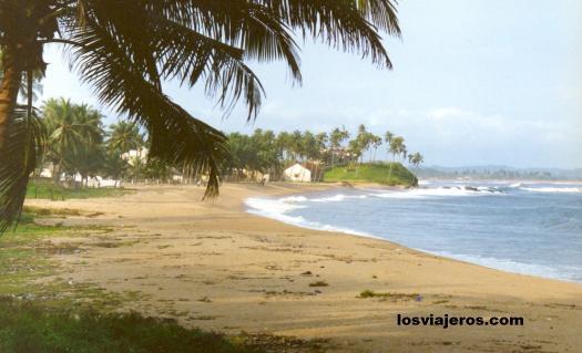 Beaches around Sassandra - Costa de Marfil / Ivory Coast / Cote d'Ivoire Playas cerca de Sassandra - Costa de Marfil