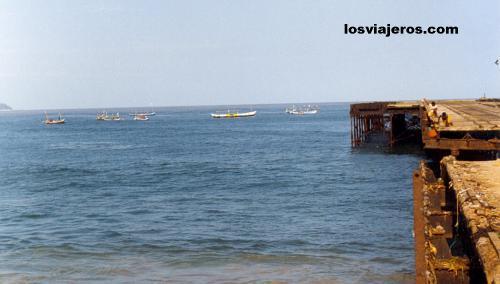 Muelle de San Pedro - Costa de Marfil / Ivory Coast / Cote d'Ivoire Muelle de San Pedro - Costa de Marfil / Ivory Coast / Cote d'Ivoire