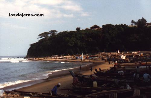 Beaches & Port of Sassandra - Costa de Marfil / Ivory Coast / Cote d'Ivoire Beaches & Port of Sassandra - Costa de Marfil / Ivory Coast / Cote d'Ivoire