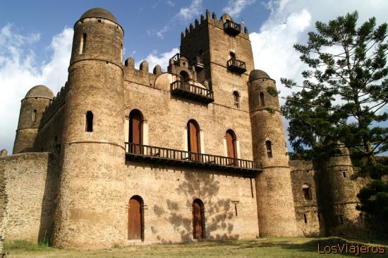 Royal Castle of Gonder - Ethiopia Castillo Real de Gonder - Etiopia