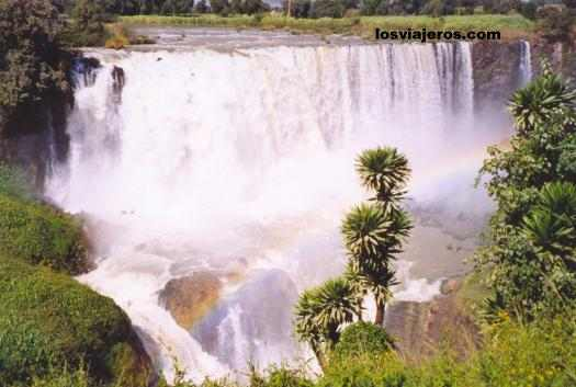 Blue Nile waterfall in Tis Abay - Ethiopia Cascadas de Tis Abay - Ethiopia - Etiopia